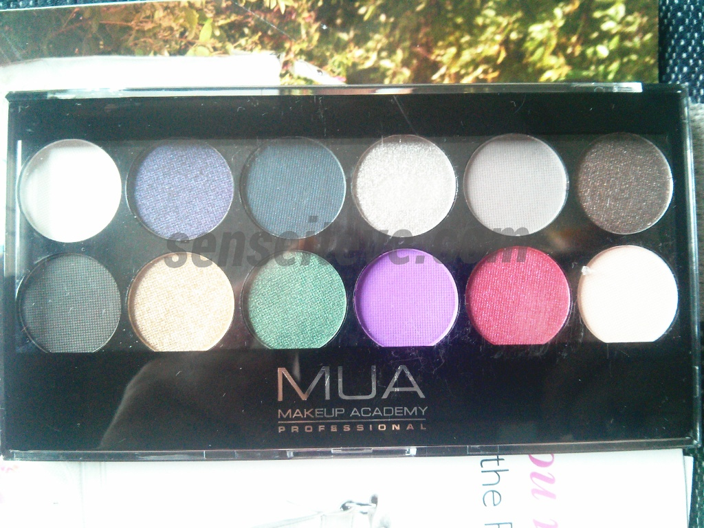 MUA 12 Shade Glamour Night Palette