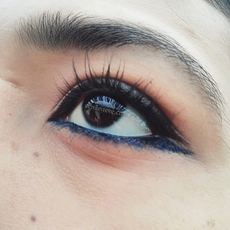 Double-Ended Eyeliner Look EOTD