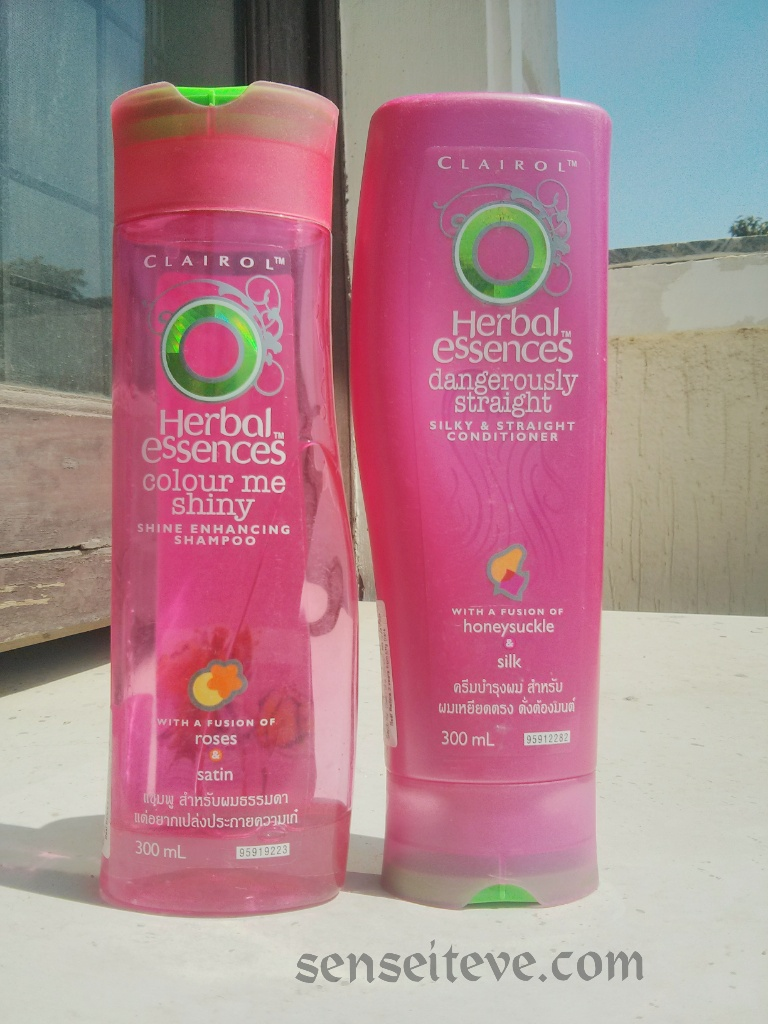 Herbal Essences Color Me Shiney Shine Enhancing Shampoo and Conditioner