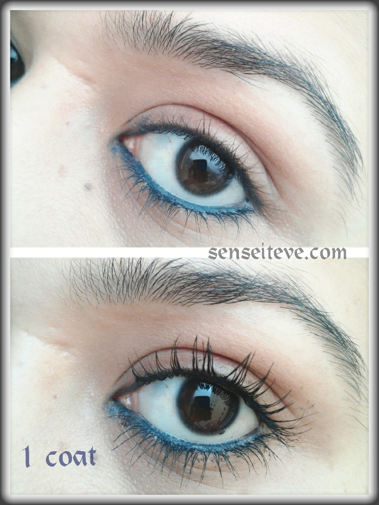 Astor Big & Beautiful Falsies Look Volume Mascara EOTD Swatch