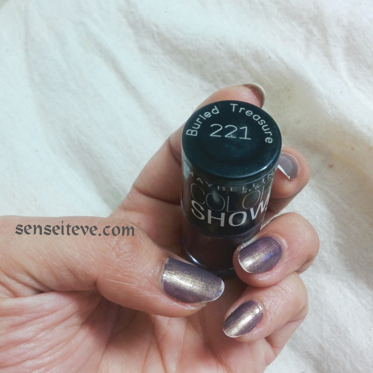 Maybelline Colorshow Nailpaint Burried Treasure