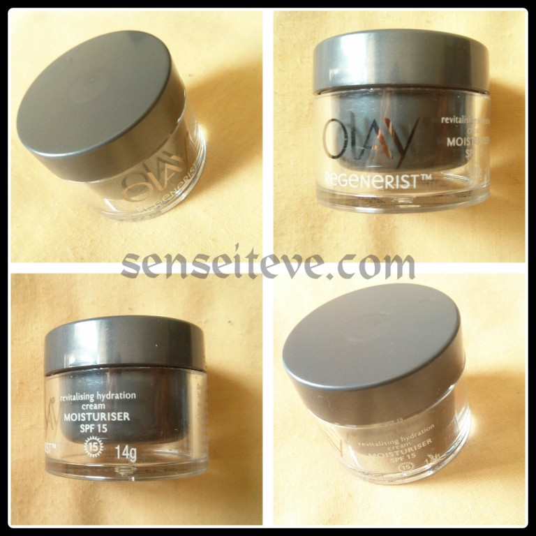 Olay Regenerist Revitalising Hydration Cream Moisturiser SPF15 Packaging