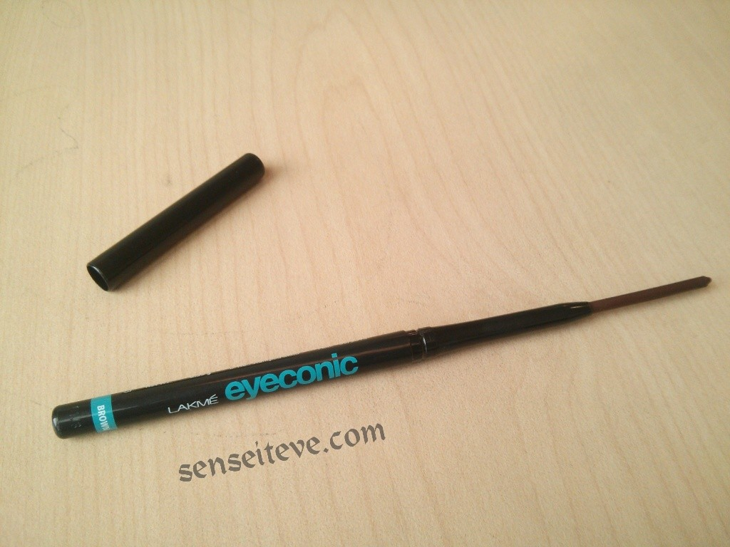Lakme eyeconic Brown Review Packaging