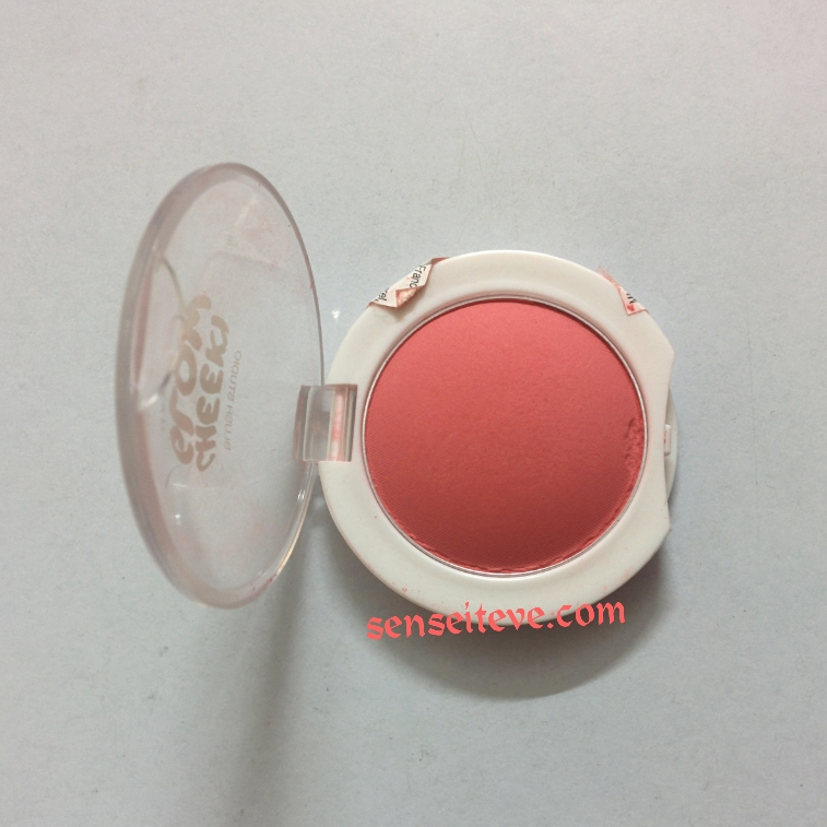 Maybelline Cheeky Glow Fresh Coral Packaging