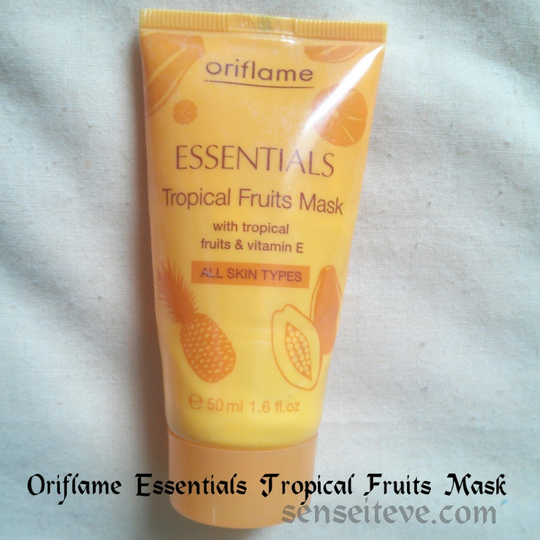 Oriflame Essentials Tropical Fruits Mask