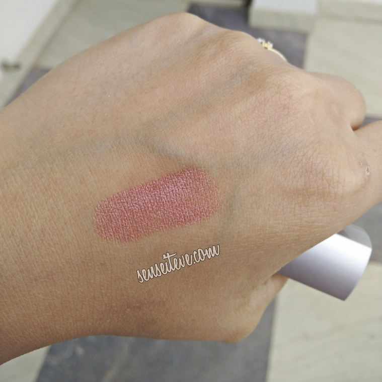 Palladio Herbal Lipstick Iced Princess Swatch