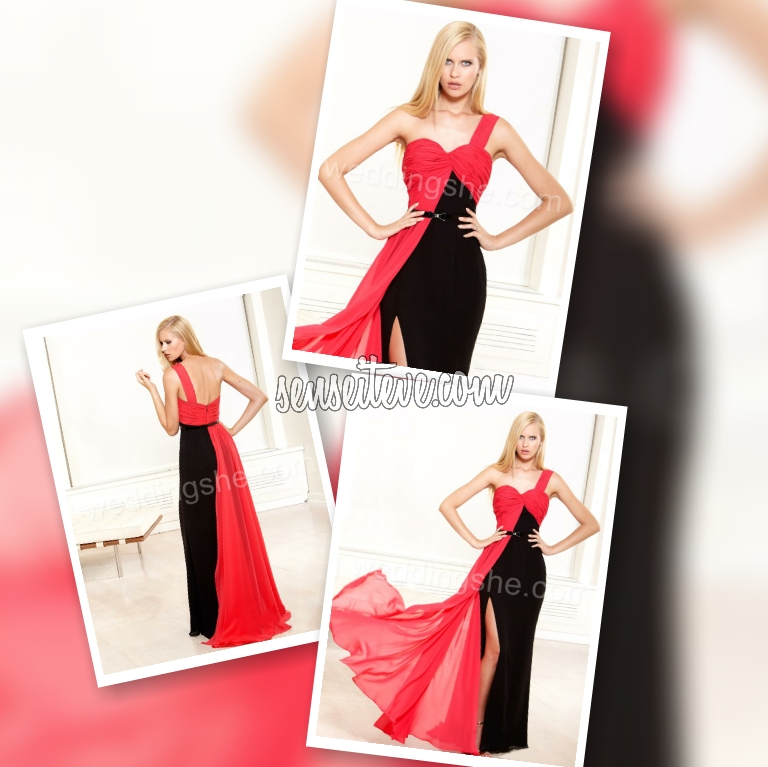 Red Prom Dress_Go edgy