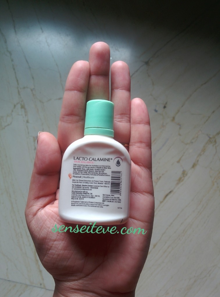 Lacto Calamine Daily Nourishing Lotion
