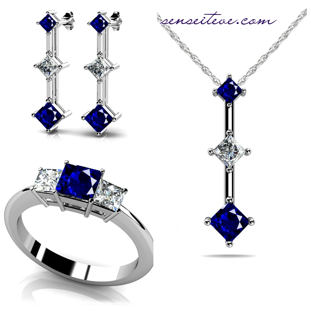 Customizable Jewellery Online_3 stone design set