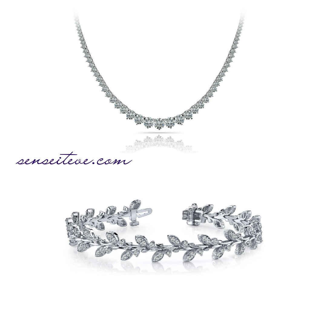 Customizable Jewellery Online_Diamond set