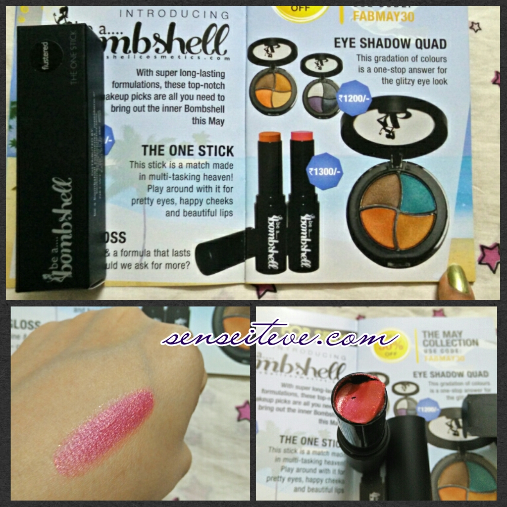 In My Fabbag May 2015_Bombshell The One Stick-Flustered