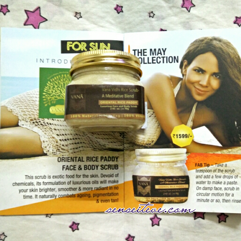 In My Fabbag May 2015_Oriental Raice Paddy Face & Body Scrub