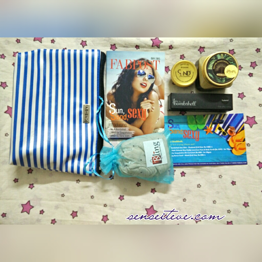 In My Fabbag May 2015_Sun Sand Sexy