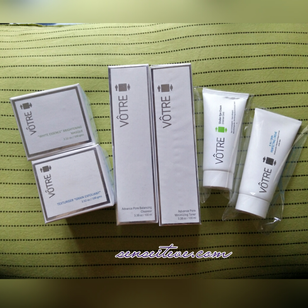 Votre New Skin Care Range Launch & My Votre Haul