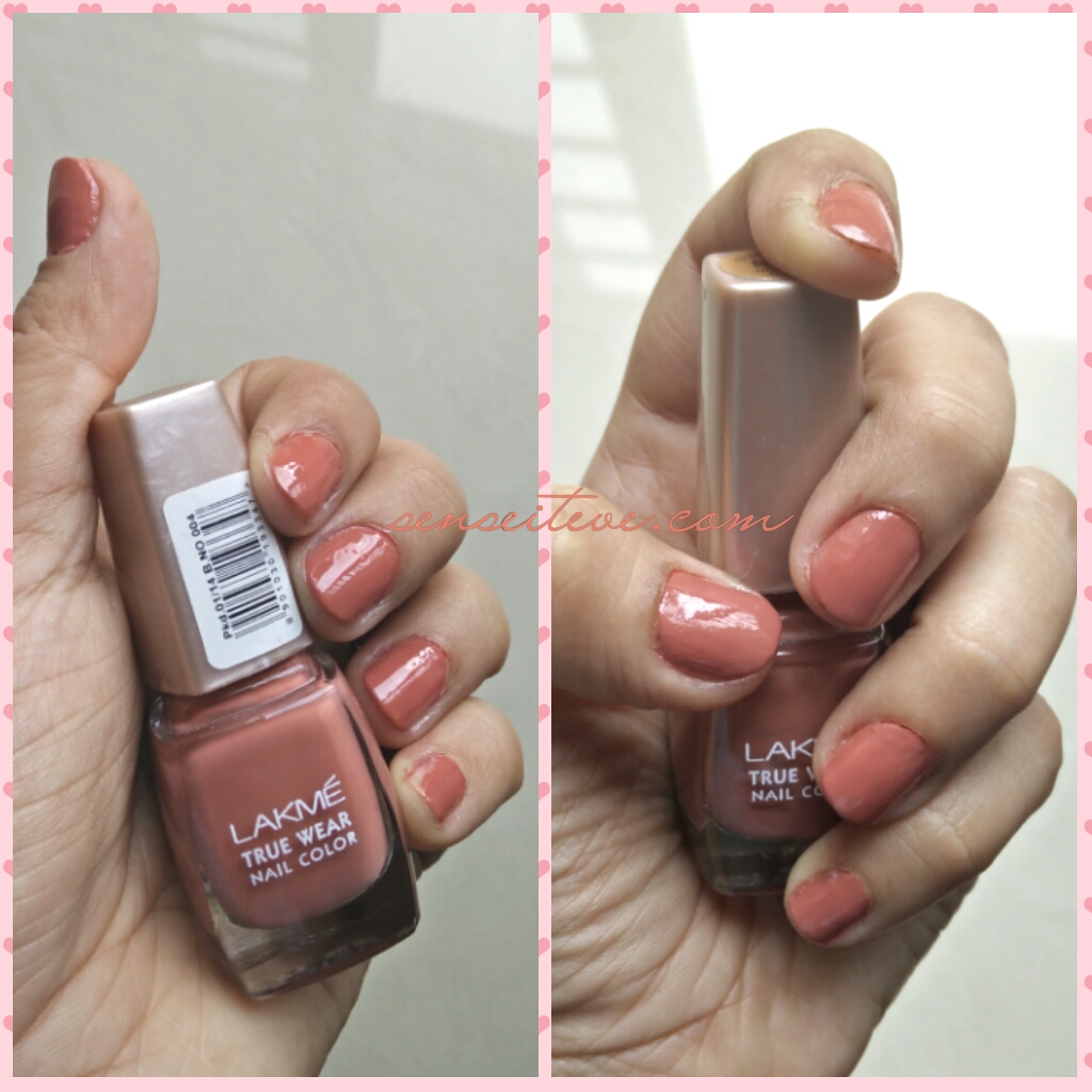 Lakme True Wear Nail Color Freespirit N237 Narendra Kumar NOTD