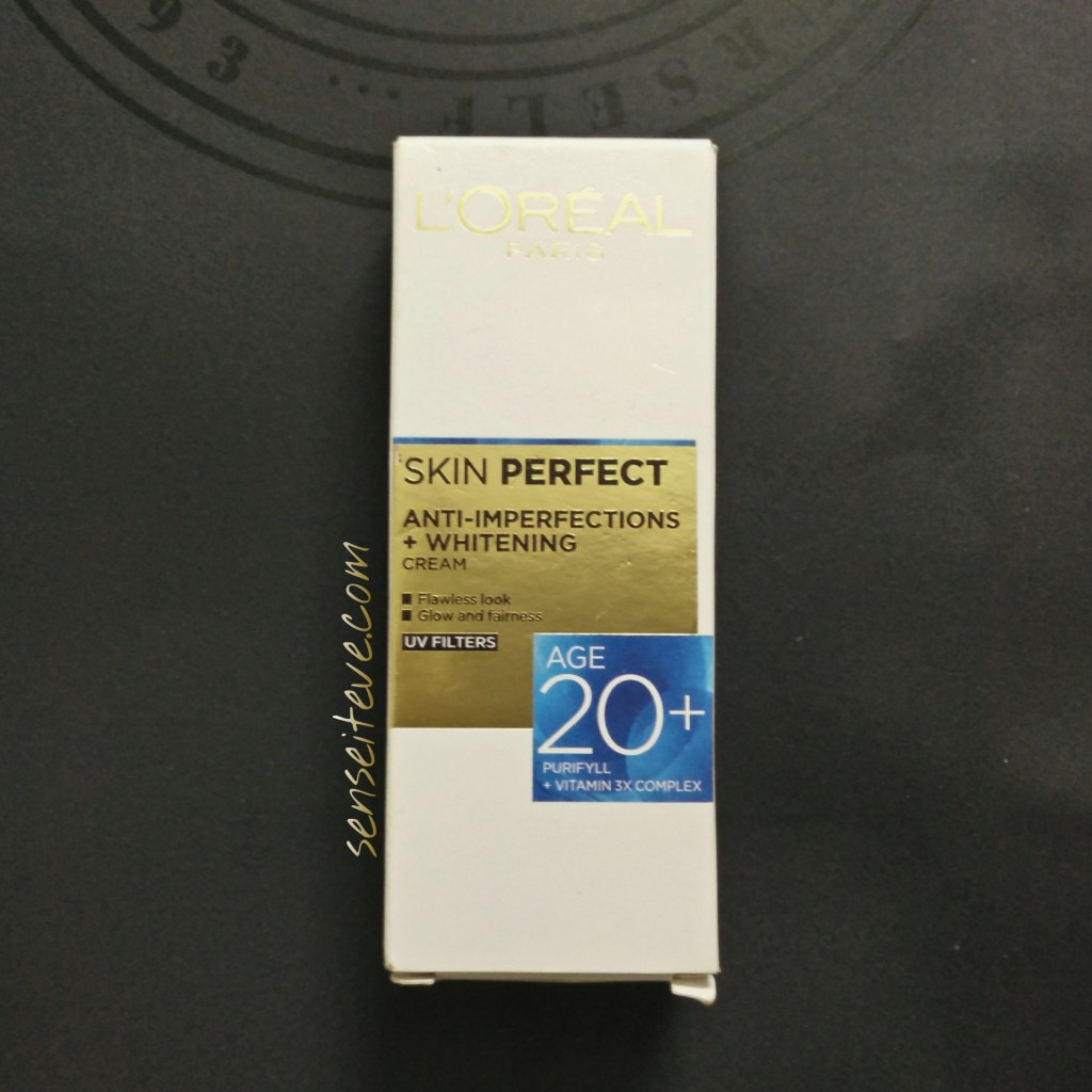 L'oreal Paris Skin Perfect Anti-inperfections +Whitening Cream for Age 20+ Review