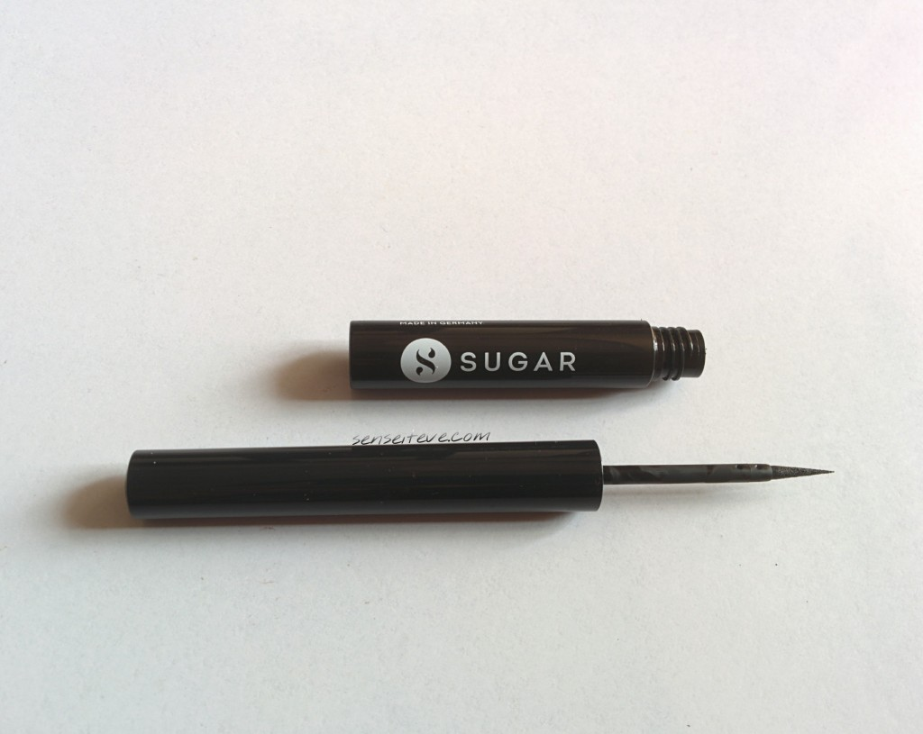 SUGAR Eye Told You So! Waterproof Eyeliner Black Swan