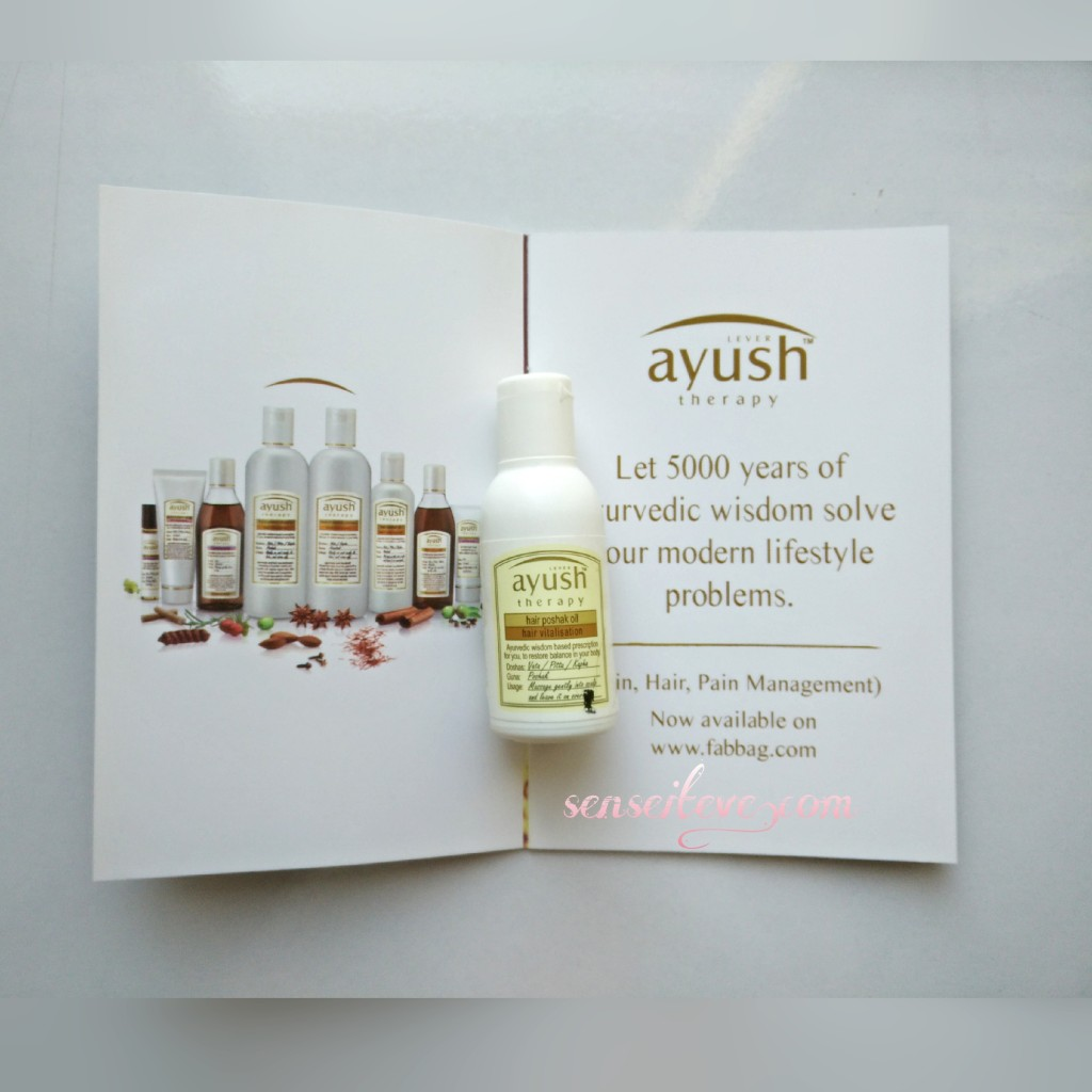 Lever Ayush Hair Poshak Oil