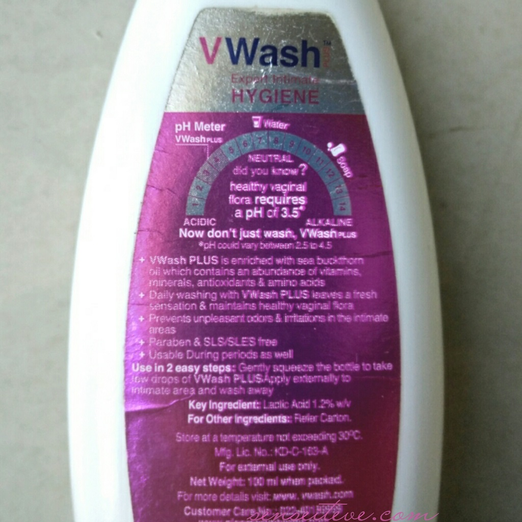 V Wash Expert Intimate Hygiene Review