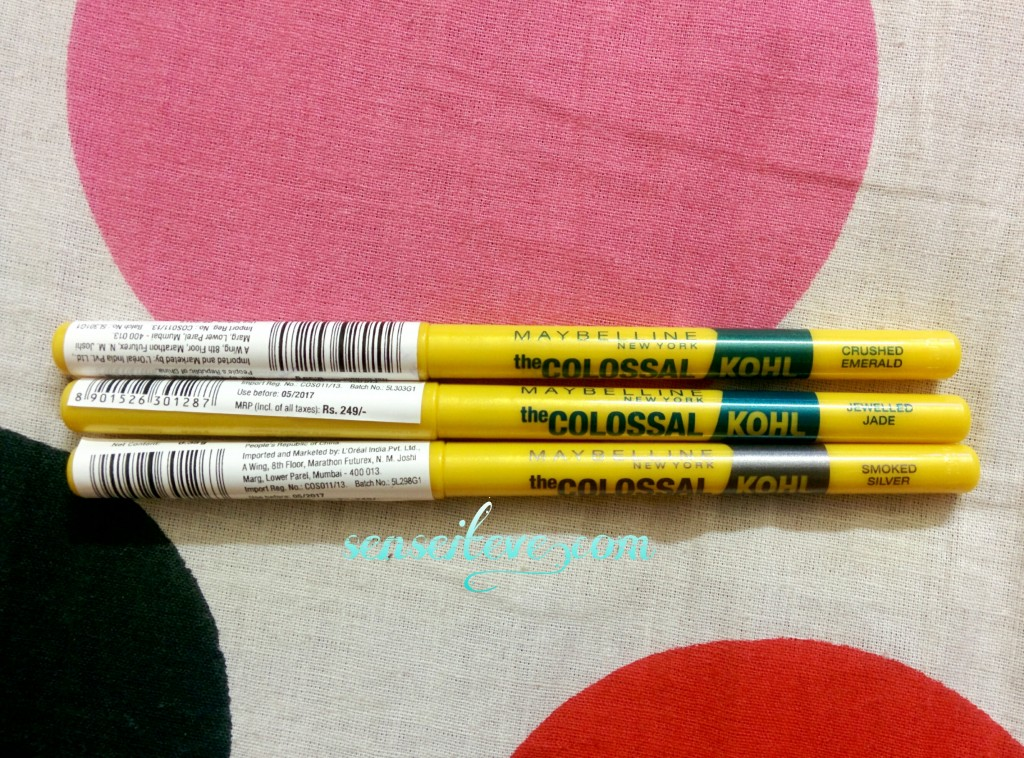 Maybelline the Colossal Kohl Review