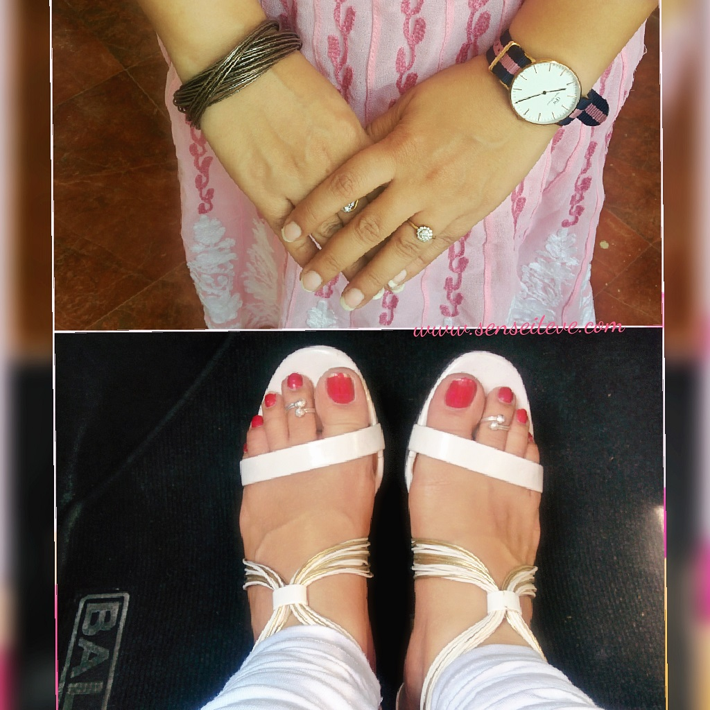 Pretty in Pink OOTD accessories
