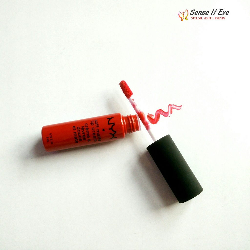 NYX Soft Matte Lip Cream SMLC01 Amsterdam Review