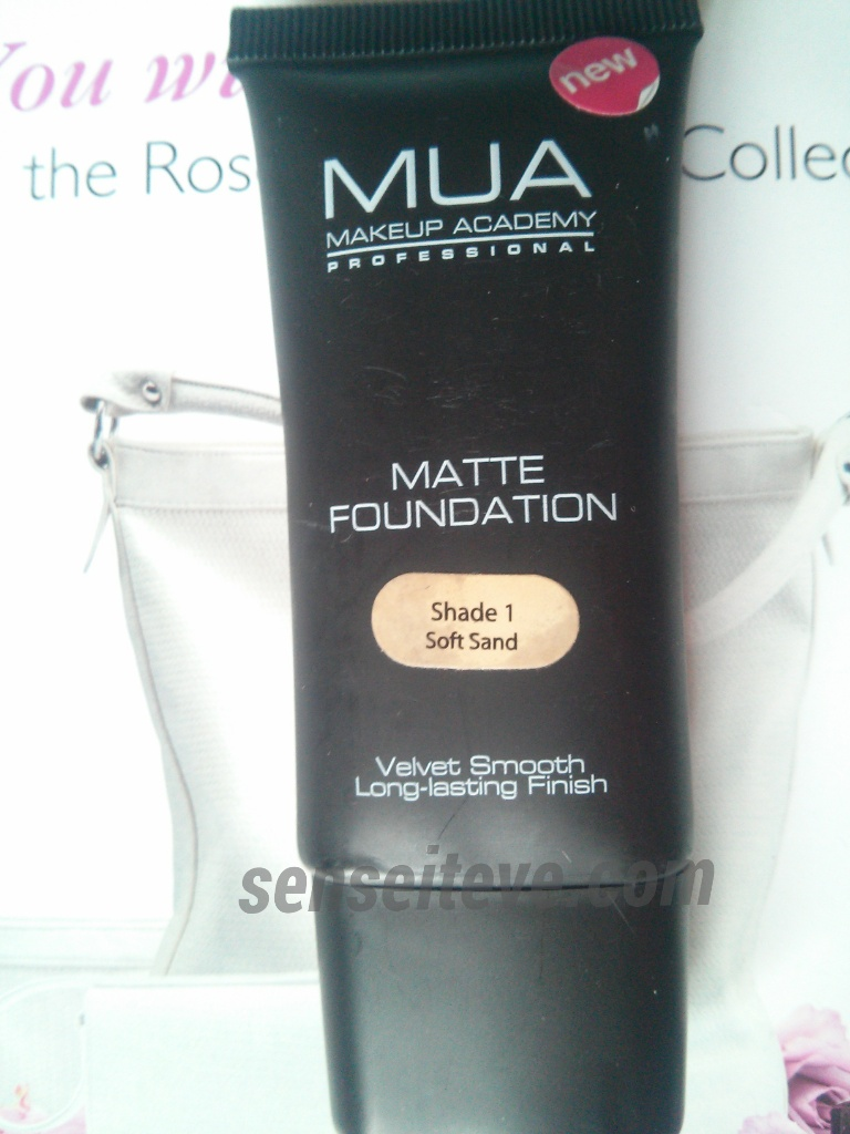 MUA Matte Foundation