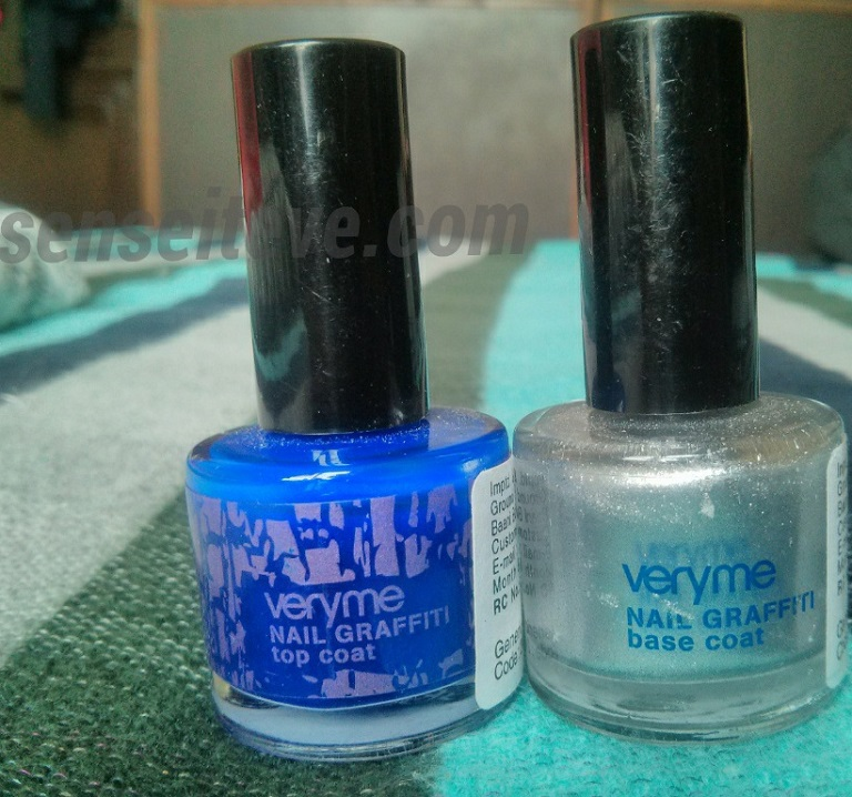 Oriflame Graffiti Nailpaint Base & Top Coat Review