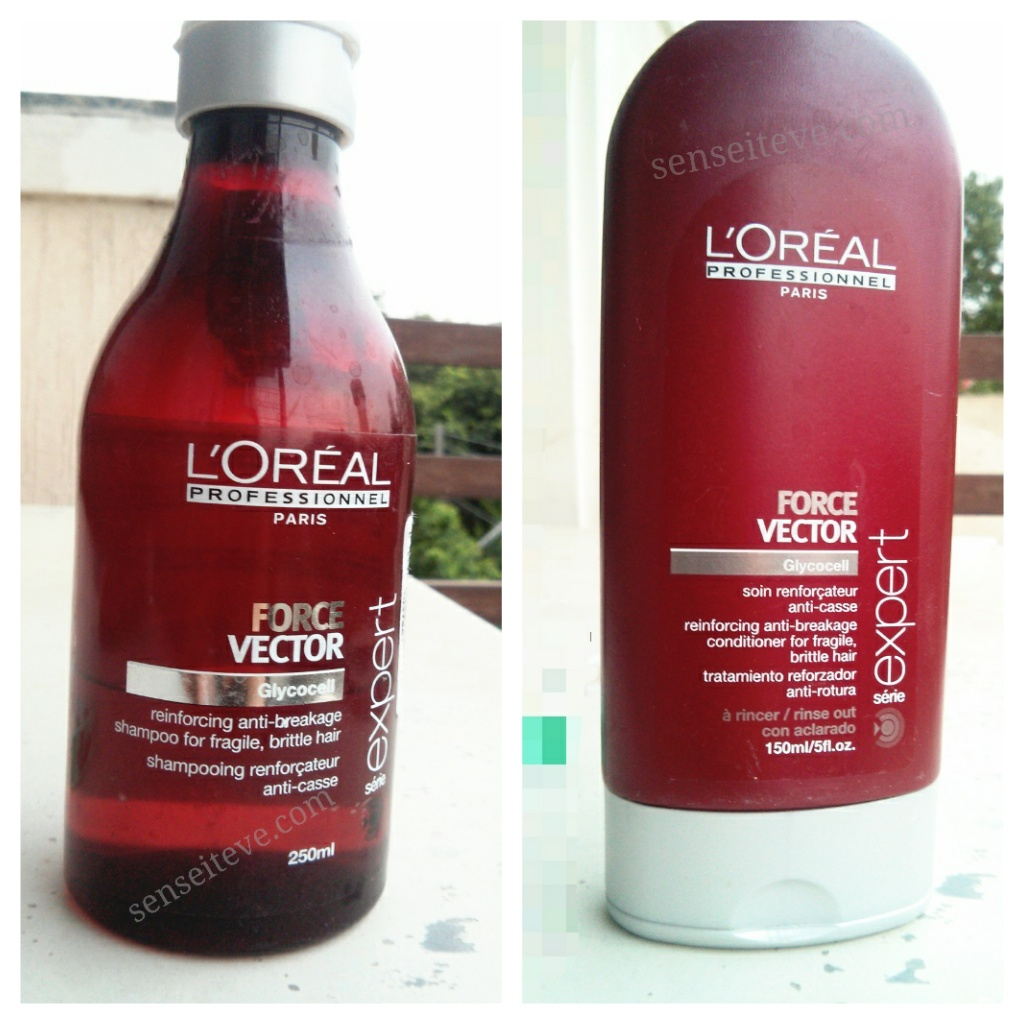 L'oreal Professional Serie Expert Force Vector Shampoo and Conditioner Review