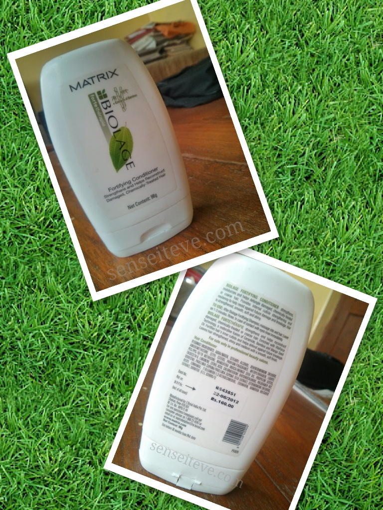 Matrix Biolage fortetherapie Fortifying Conditioner Review