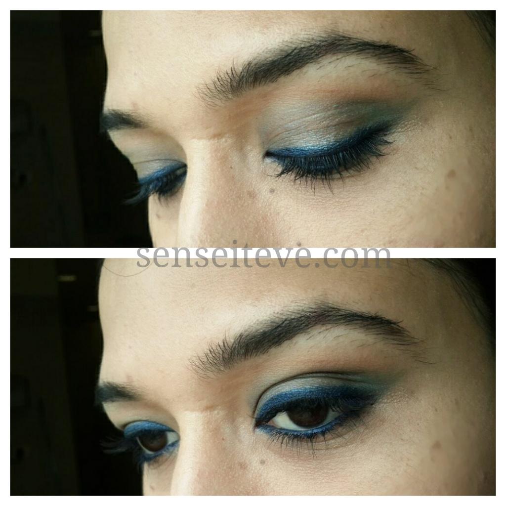 Blue green eyemakeup 4