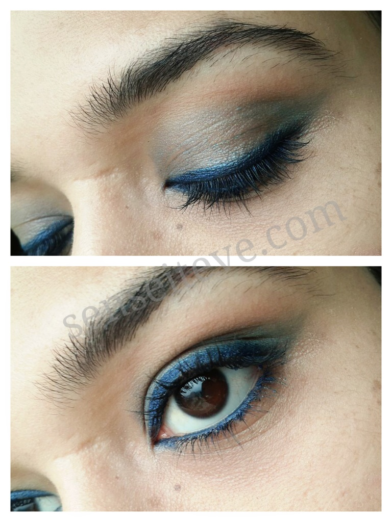 Blue green eyemakeup 5