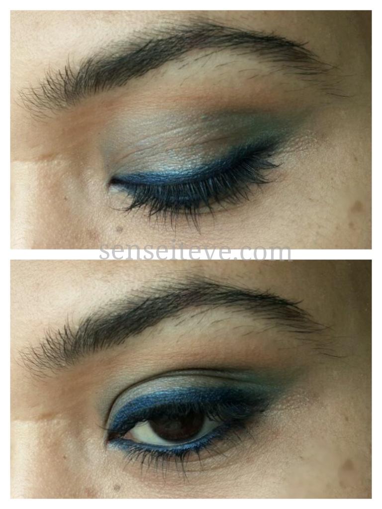 Blue green eyemakeup 6