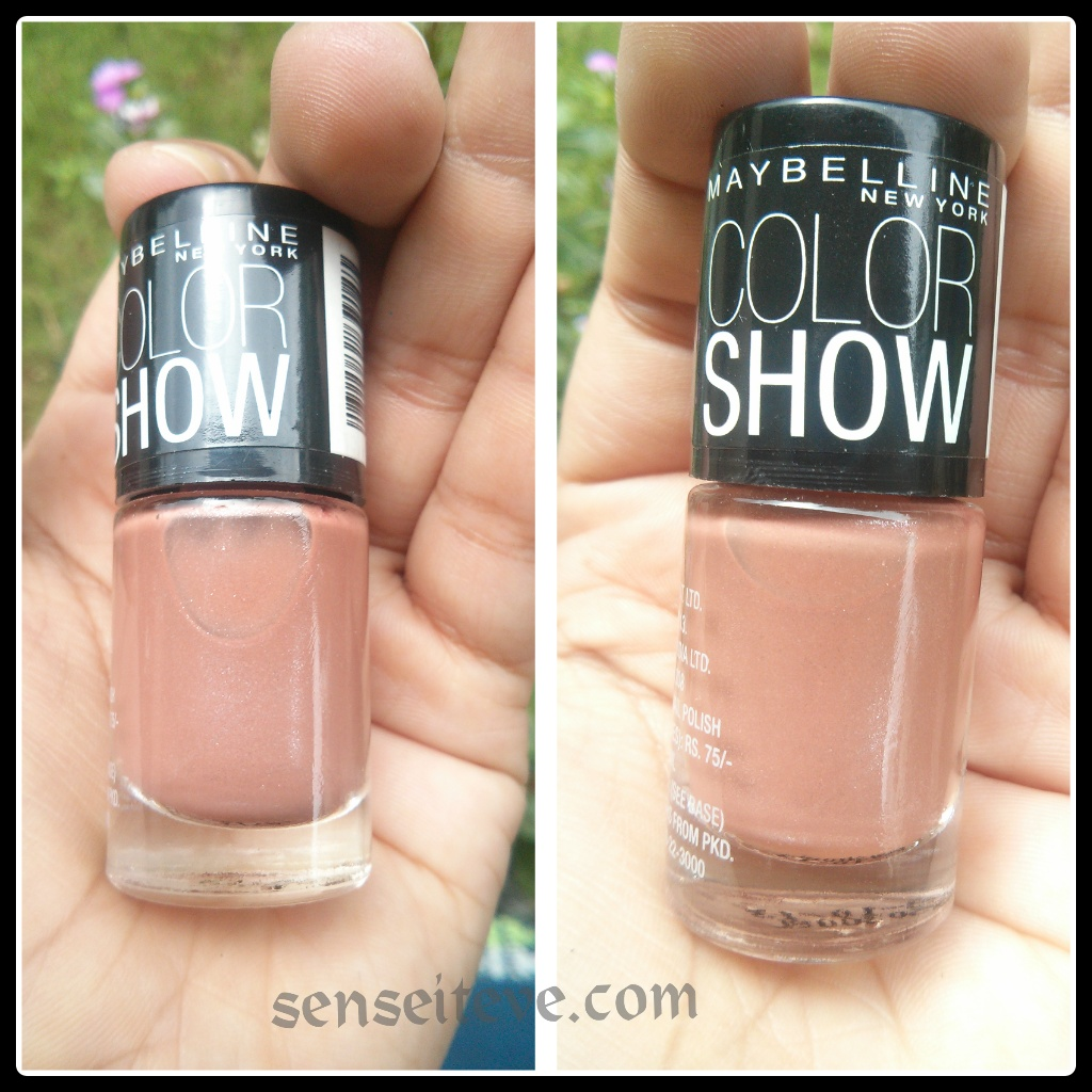 Maybelline colorshow Silk Stockings packaging