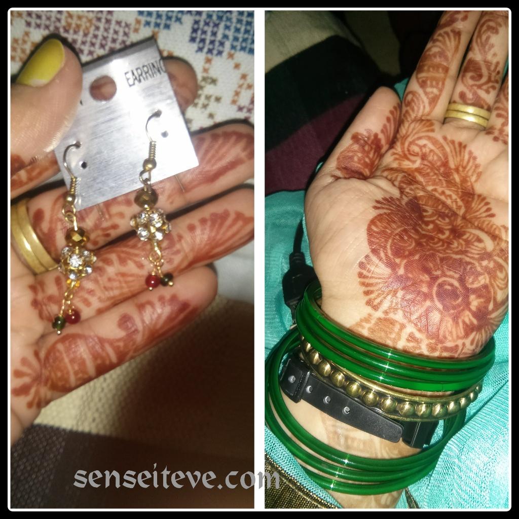OOTD My Diwali Look Accessories