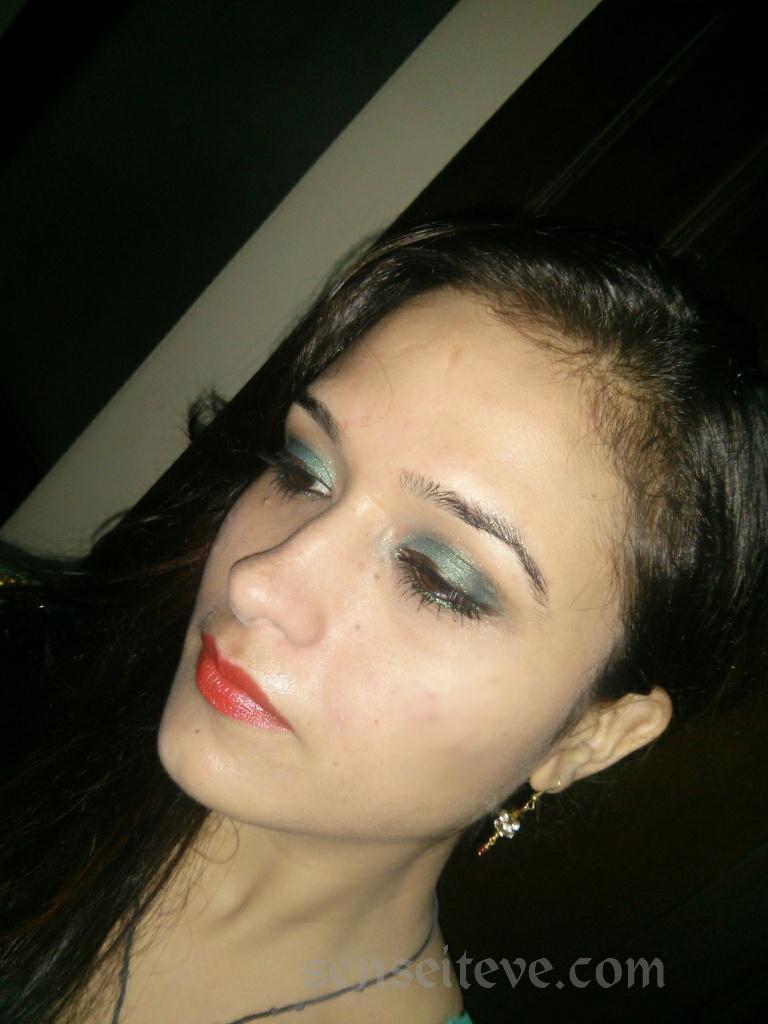 OOTD My Diwali Look Closeup 1