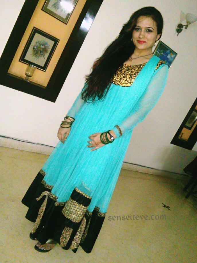 OOTD My Diwali Look Full