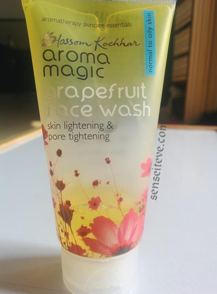 Aroma Magic Grapefruit Facewash Review