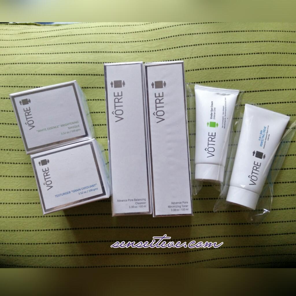 Votre New Skin Care Range Launch & My Votre Haul