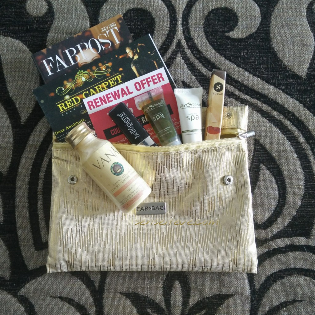 In My Fabbag July 2015