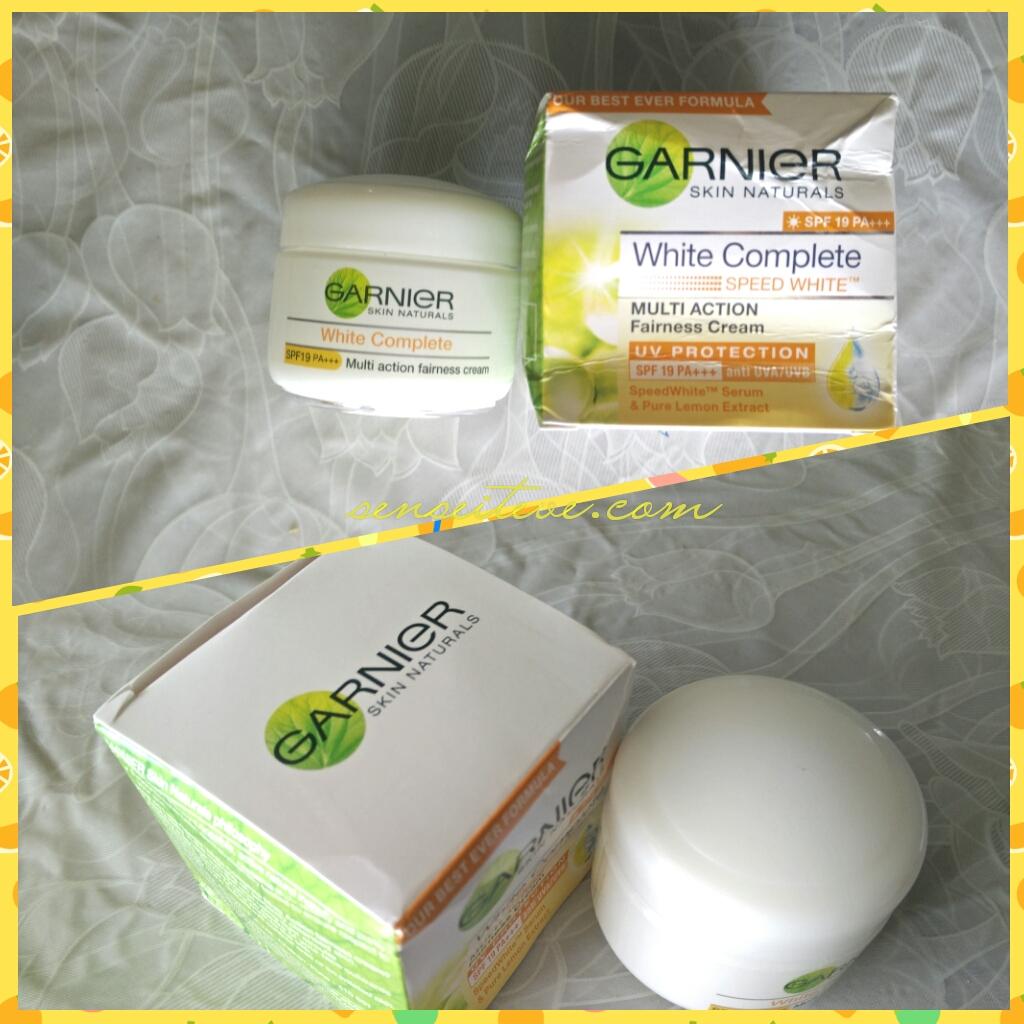Garnier White Complete Multi-action Fairness Cream Review