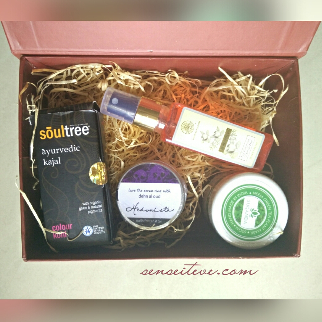 My Envy Box August 2015 Products