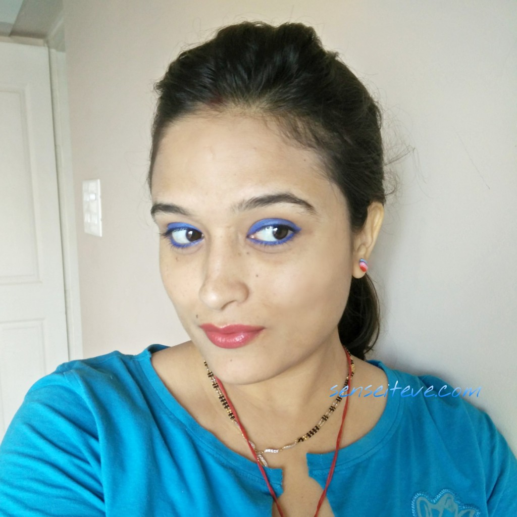 Soultree Ayurvedic Kajal True Blue FOTD