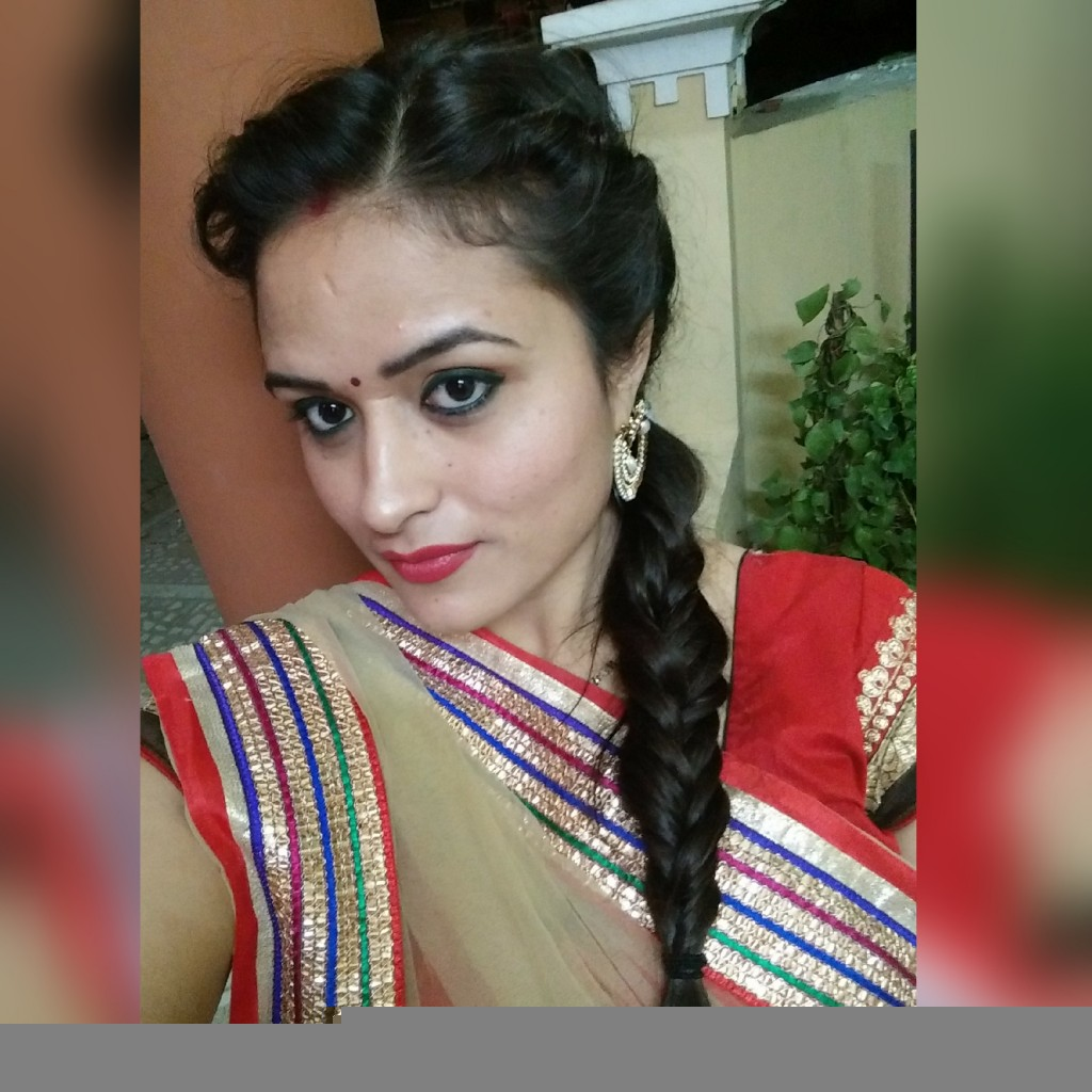 My Diwali 2015 Celebration and OOTD Part 2_Makeup