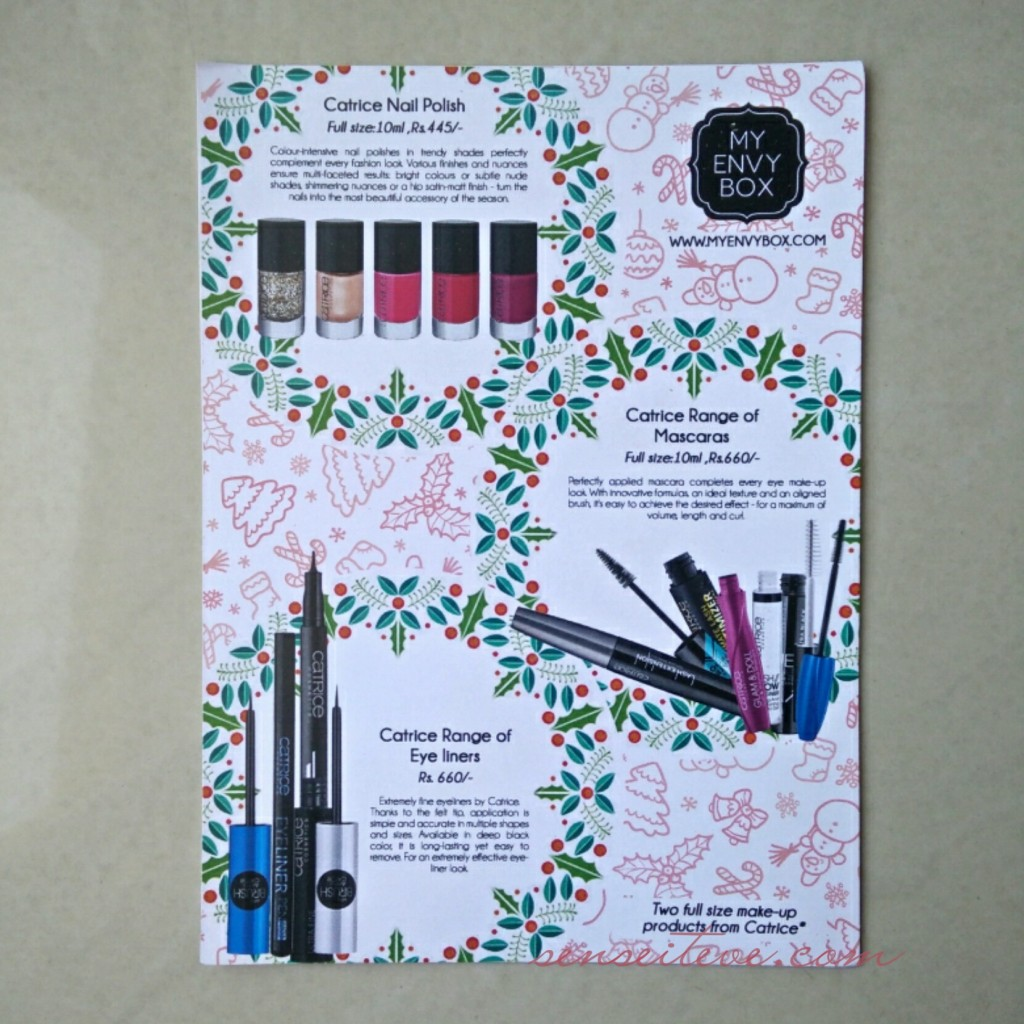 My Envy Box Product card