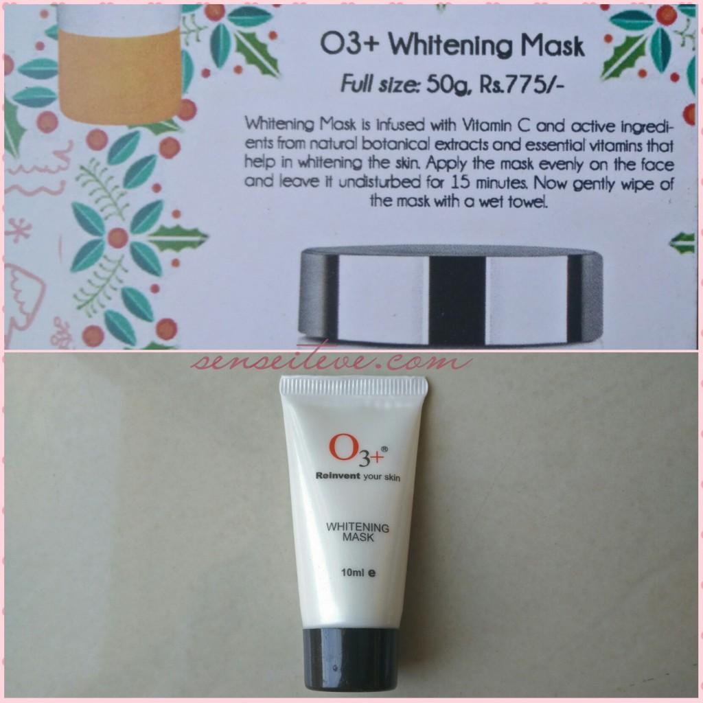 O3+ Whitening Mask