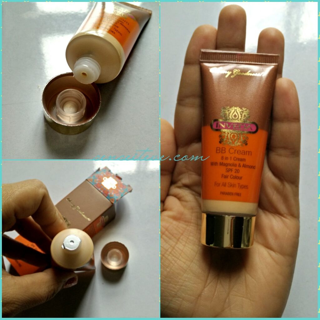 Inveda 8 in 1 BB Cream Packaging