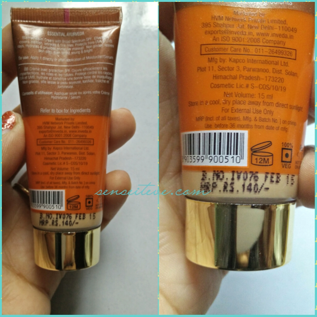 Inveda 8 in 1 BB Cream Price in India
