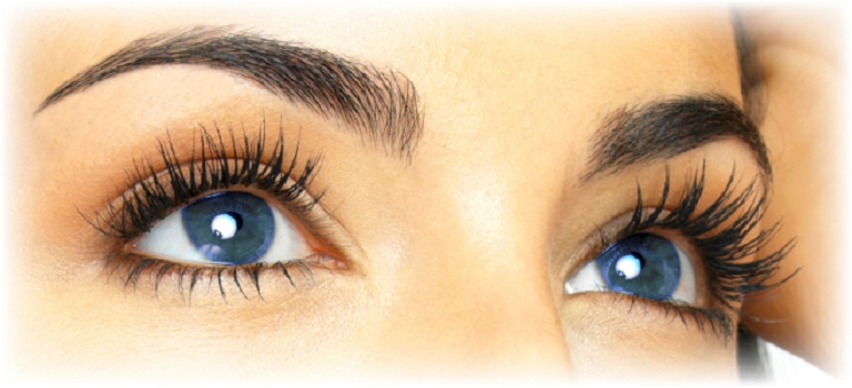 Grow your eyebrows thicker and eyelashes longer