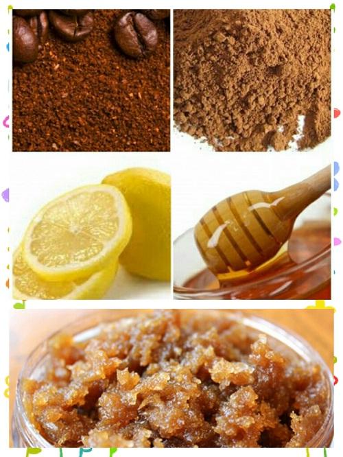 Reduce facial hair at home_Coffee Scrub